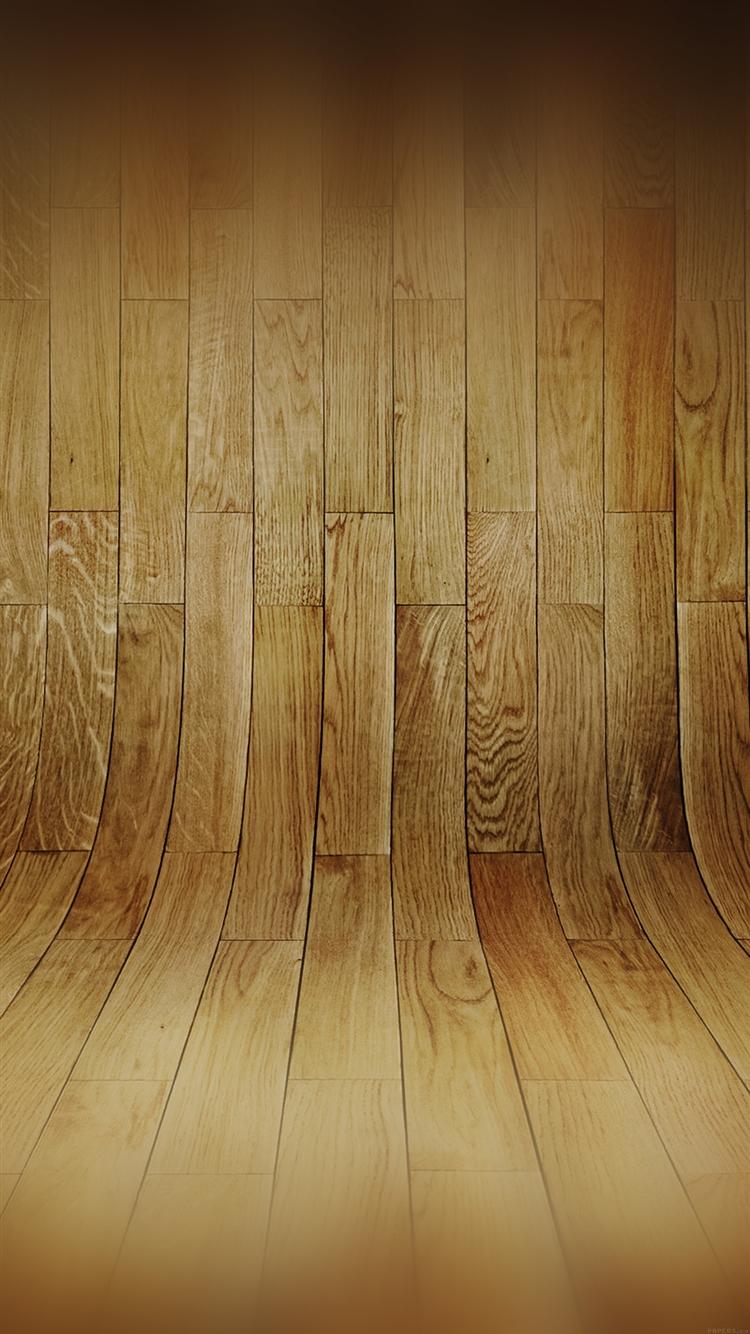 カーブのある木目 iPhone6壁紙