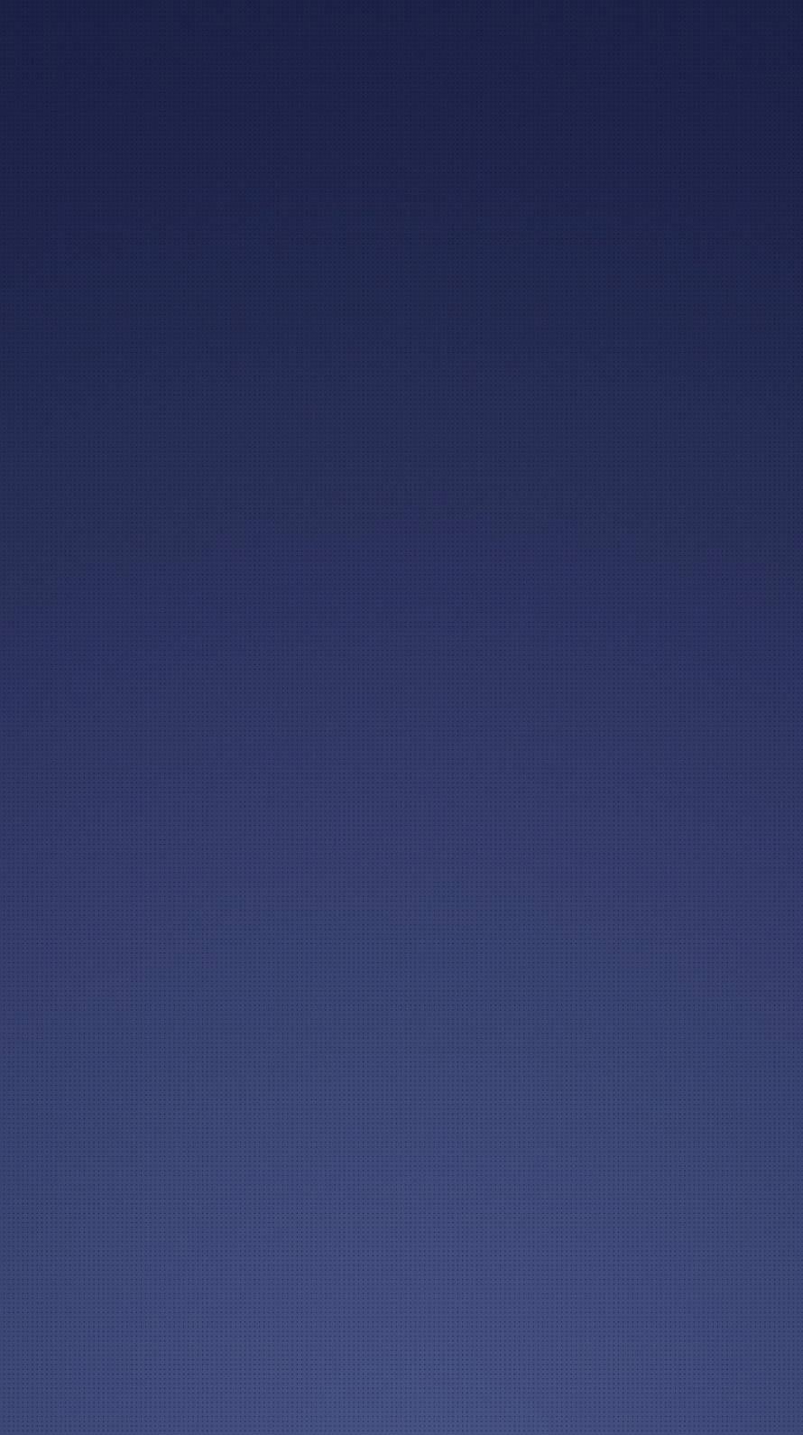シンプルな紺のグラデーション iPhone6壁紙