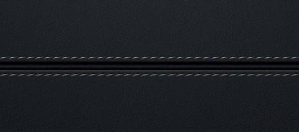 ステッチの入った黒のレザー iPhone6壁紙