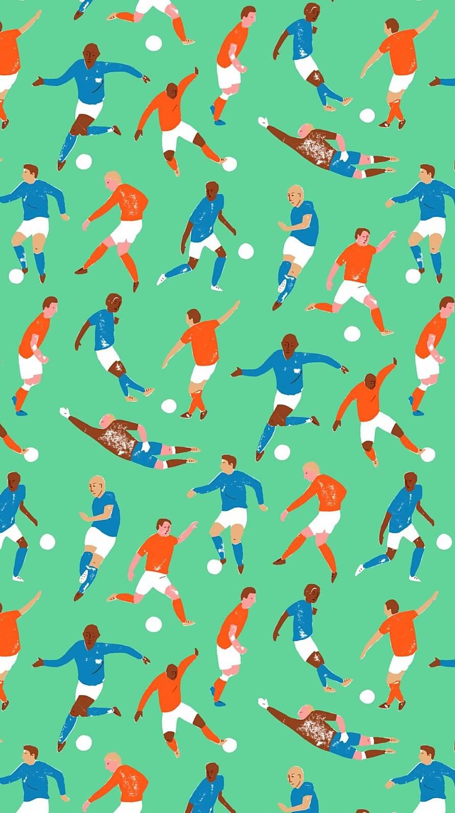 マリメッコ サッカー iPhone6壁紙