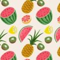 マリメッコ フルーツ iPhone6壁紙