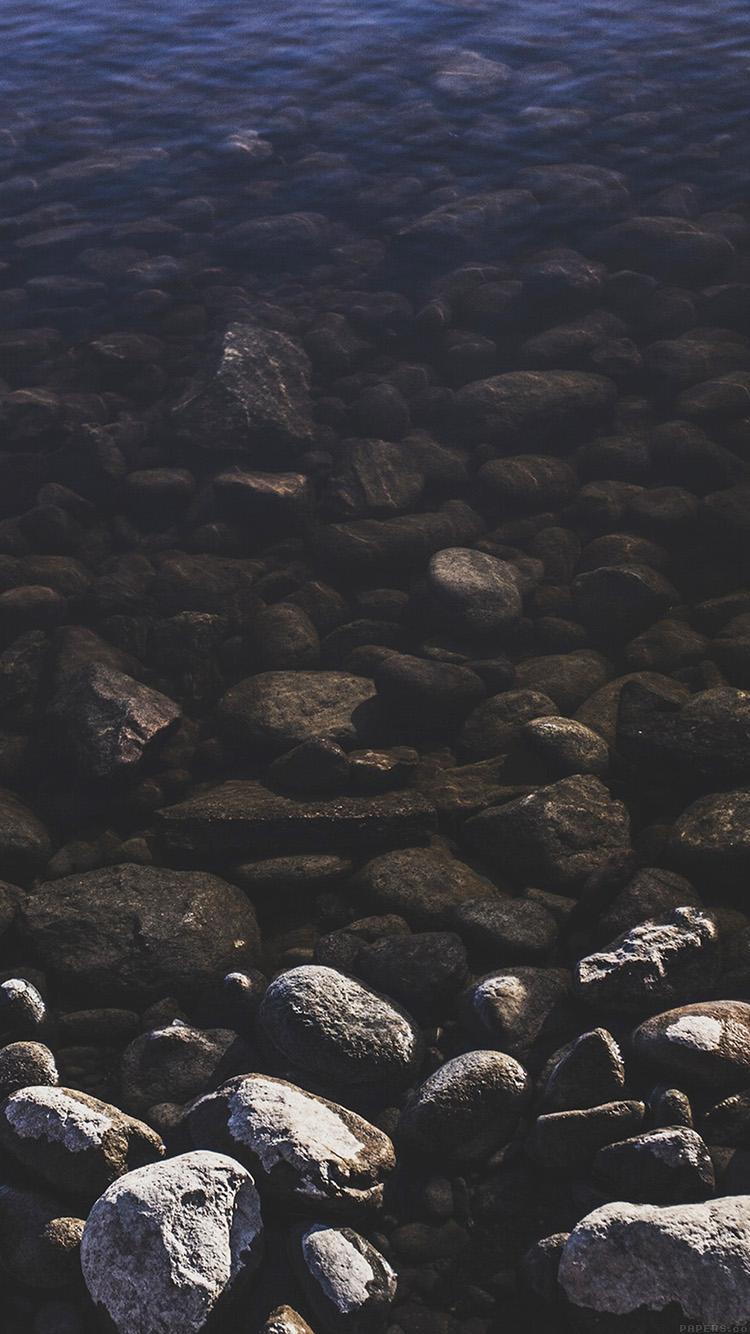 河川敷 iPhone6壁紙
