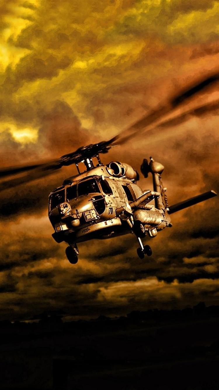 戦闘ヘリ iPhone6壁紙