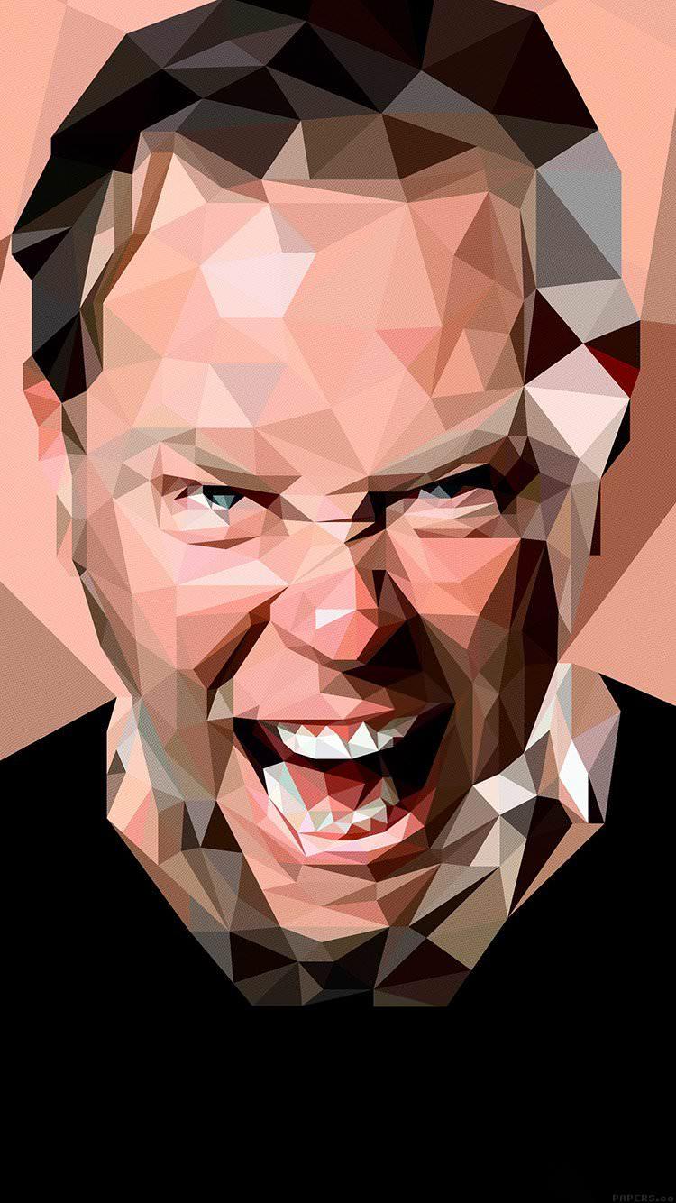 怒る男 iPhone6 壁紙