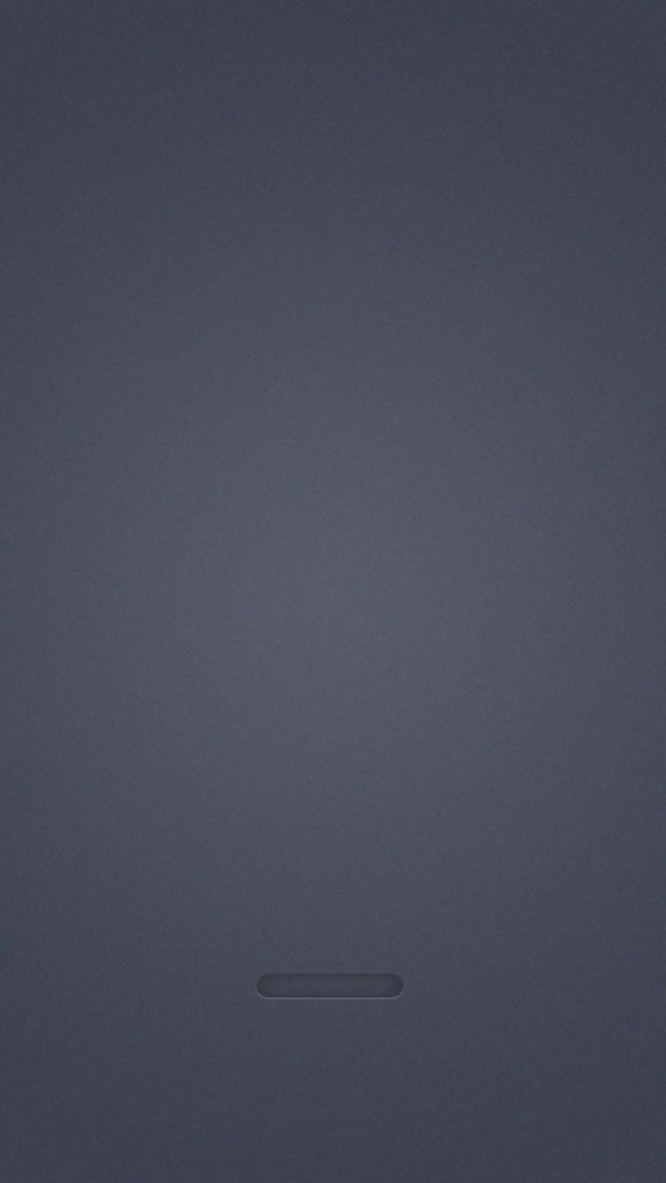 シンプル・グレー iPhone6壁紙
