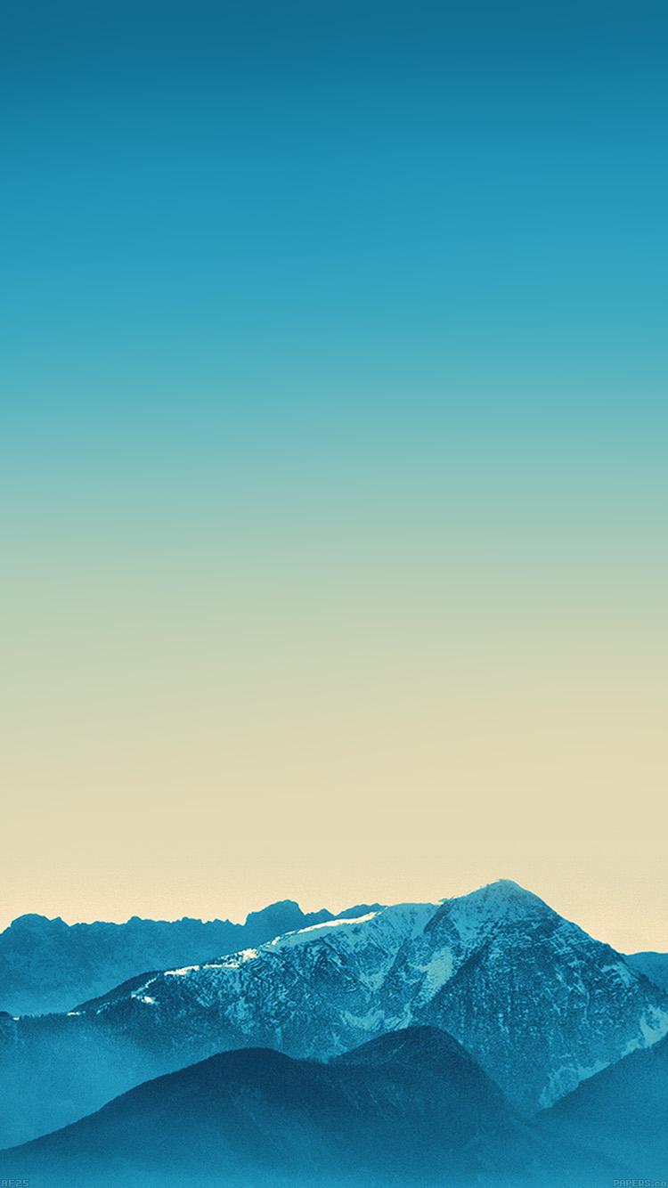 ブルーマウンテン iPhone6壁紙