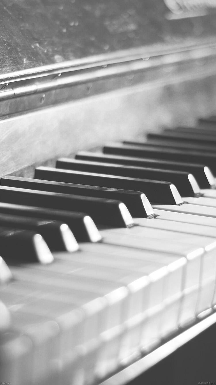 ピアノの鍵盤 iPhone6壁紙