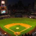 野球のスタジアム iPhone6壁紙