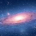 銀河のブラックホール iPhone6壁紙