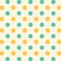 緑と黄色のドット柄 Android壁紙