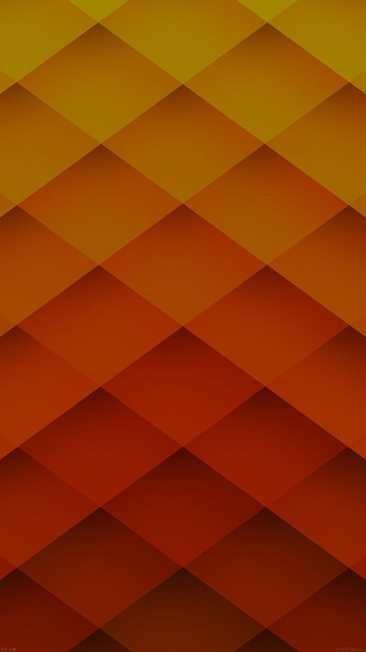 オレンジと黄色のヘックス iPhone6壁紙