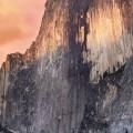 夕暮れの断崖 iPhone6壁紙