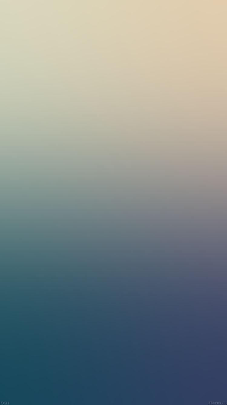 淡い青のグラデーション iPhone6壁紙