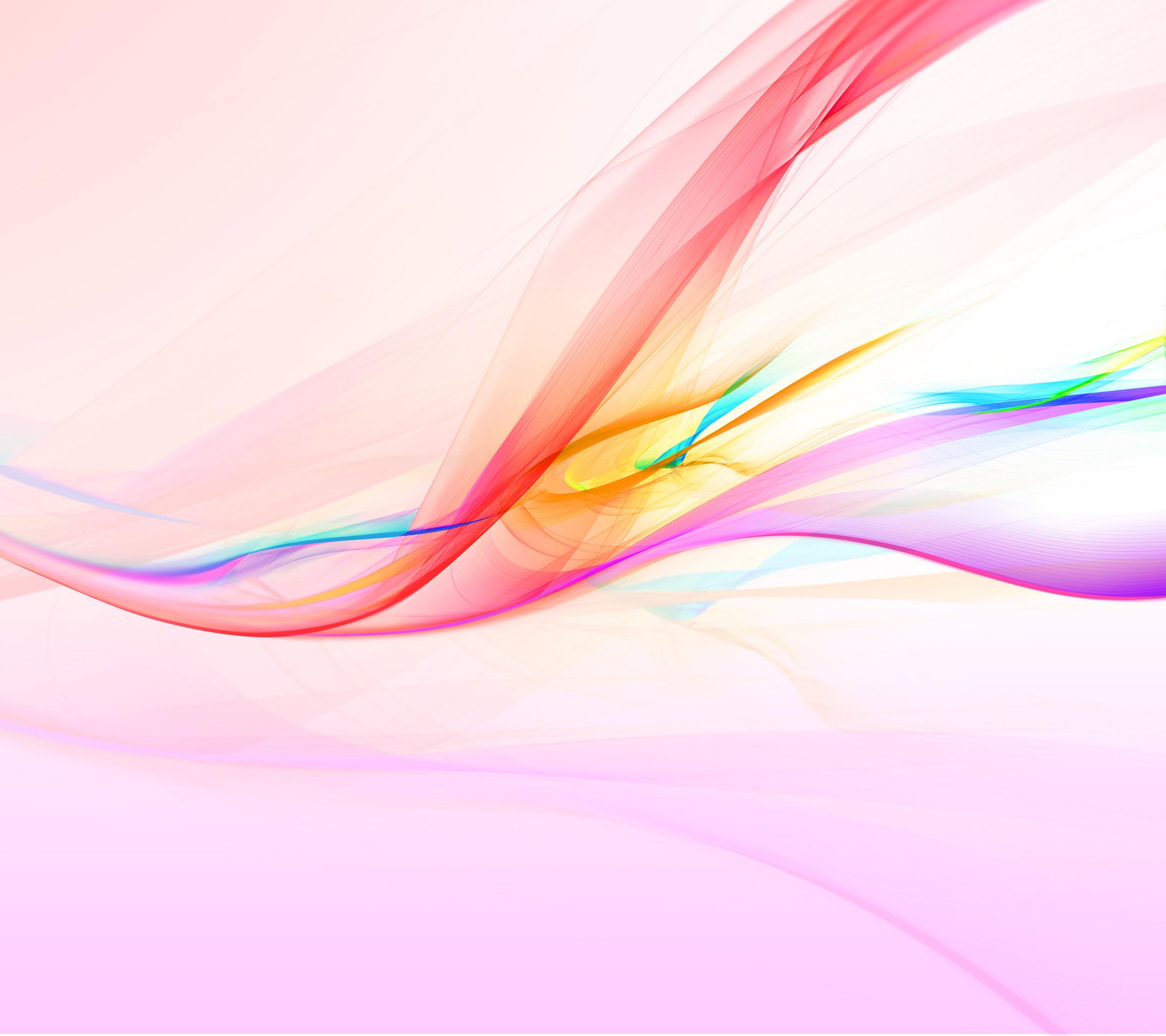 ピンクの綺麗なアブストラクト Android壁紙