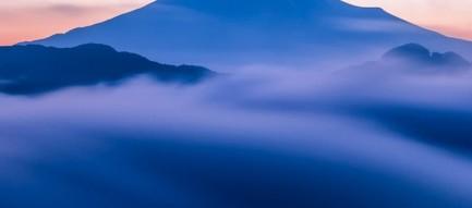 霧の中の風景 iPhone6 壁紙