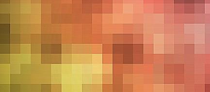 暖色のモザイク Android壁紙