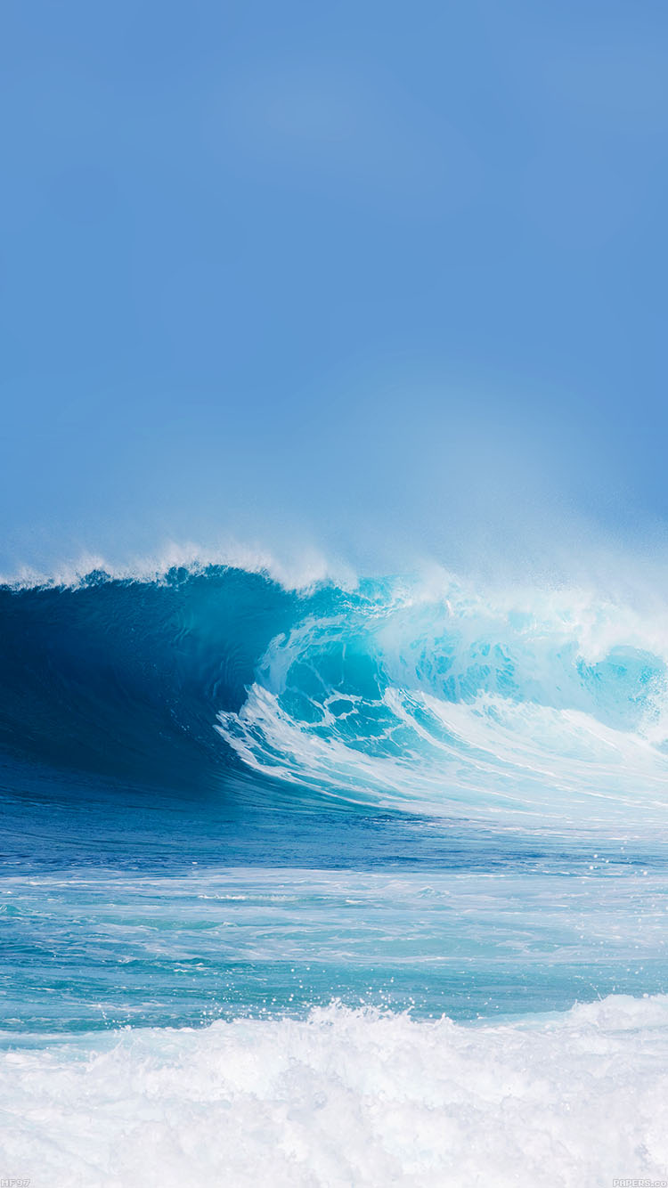 BIG WAVE iPhone6壁紙