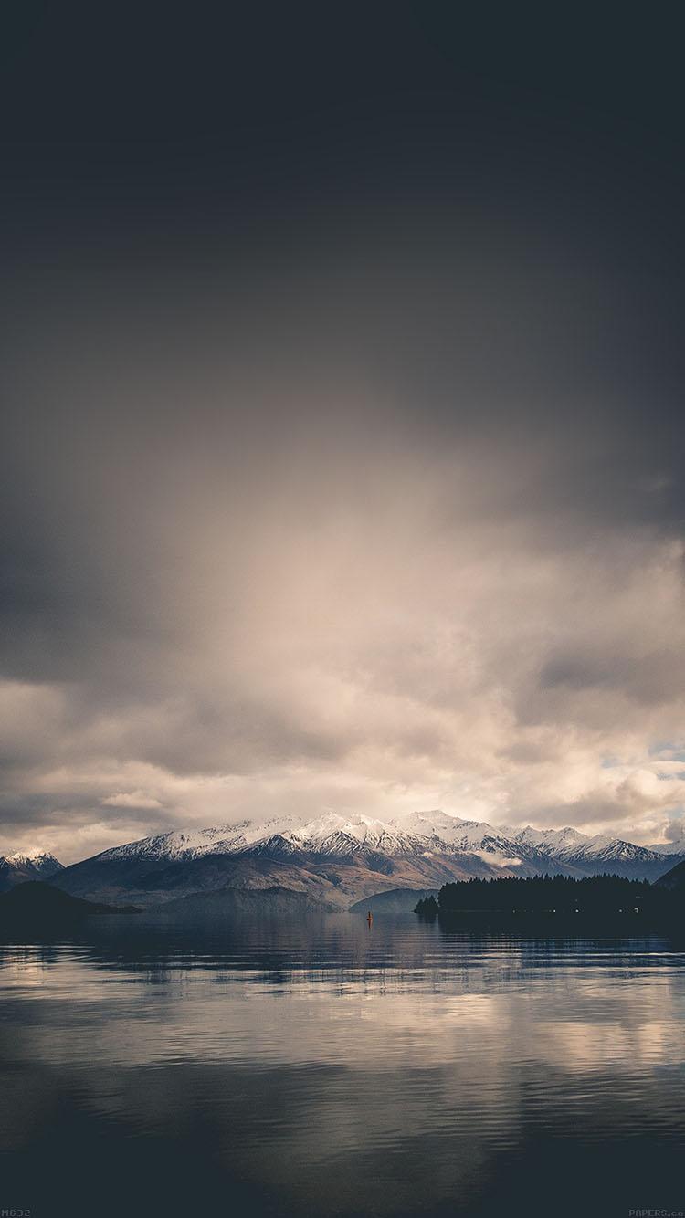 静寂の風景 iPhone6壁紙