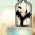 鳥かご iPhone6壁紙