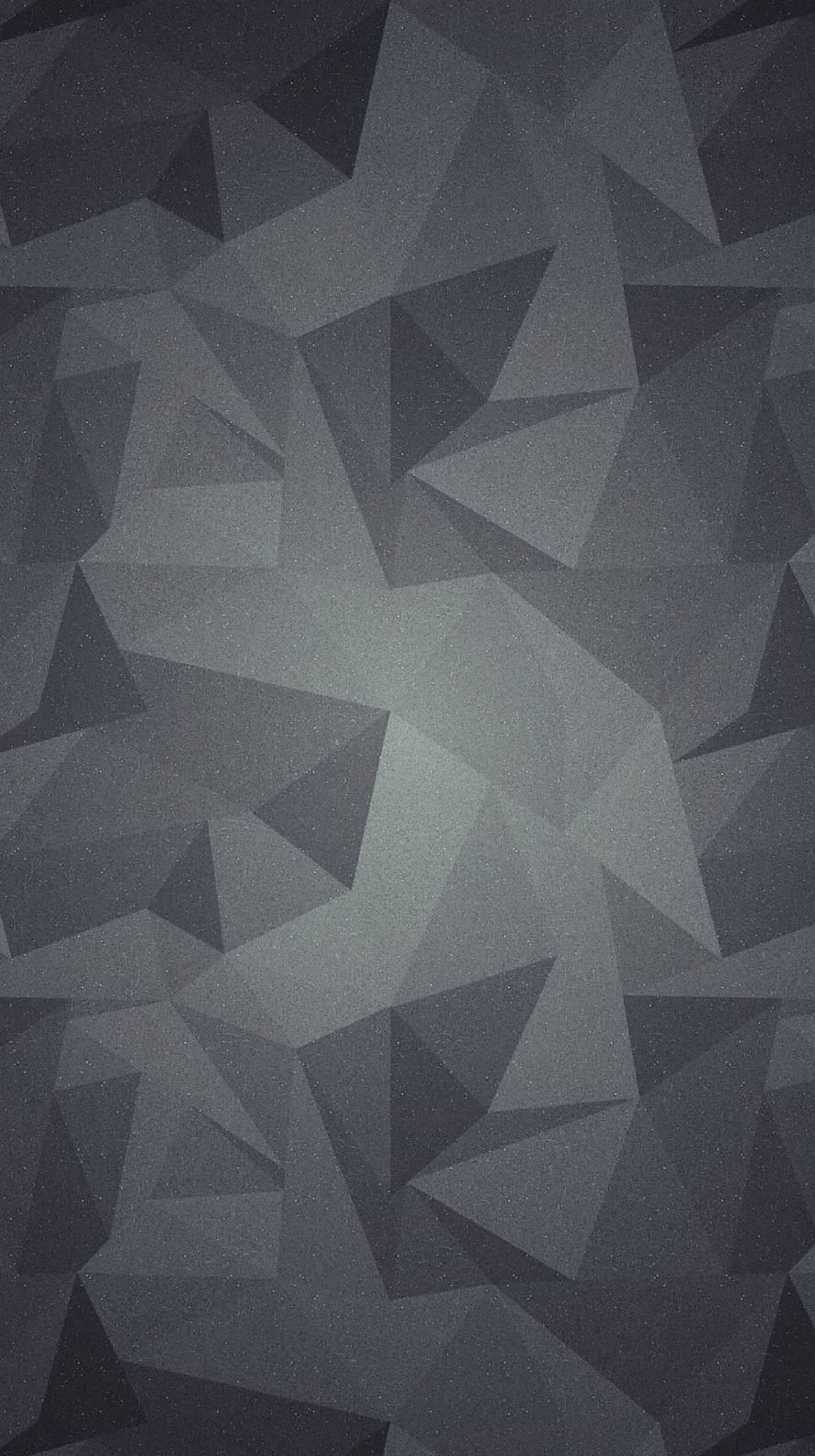 黒のトライアングル iPhone6壁紙