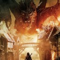 ドラゴンと対峙する戦士 iPhone6壁紙