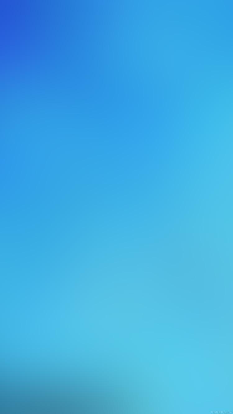 綺麗な水色 iPhone6壁紙