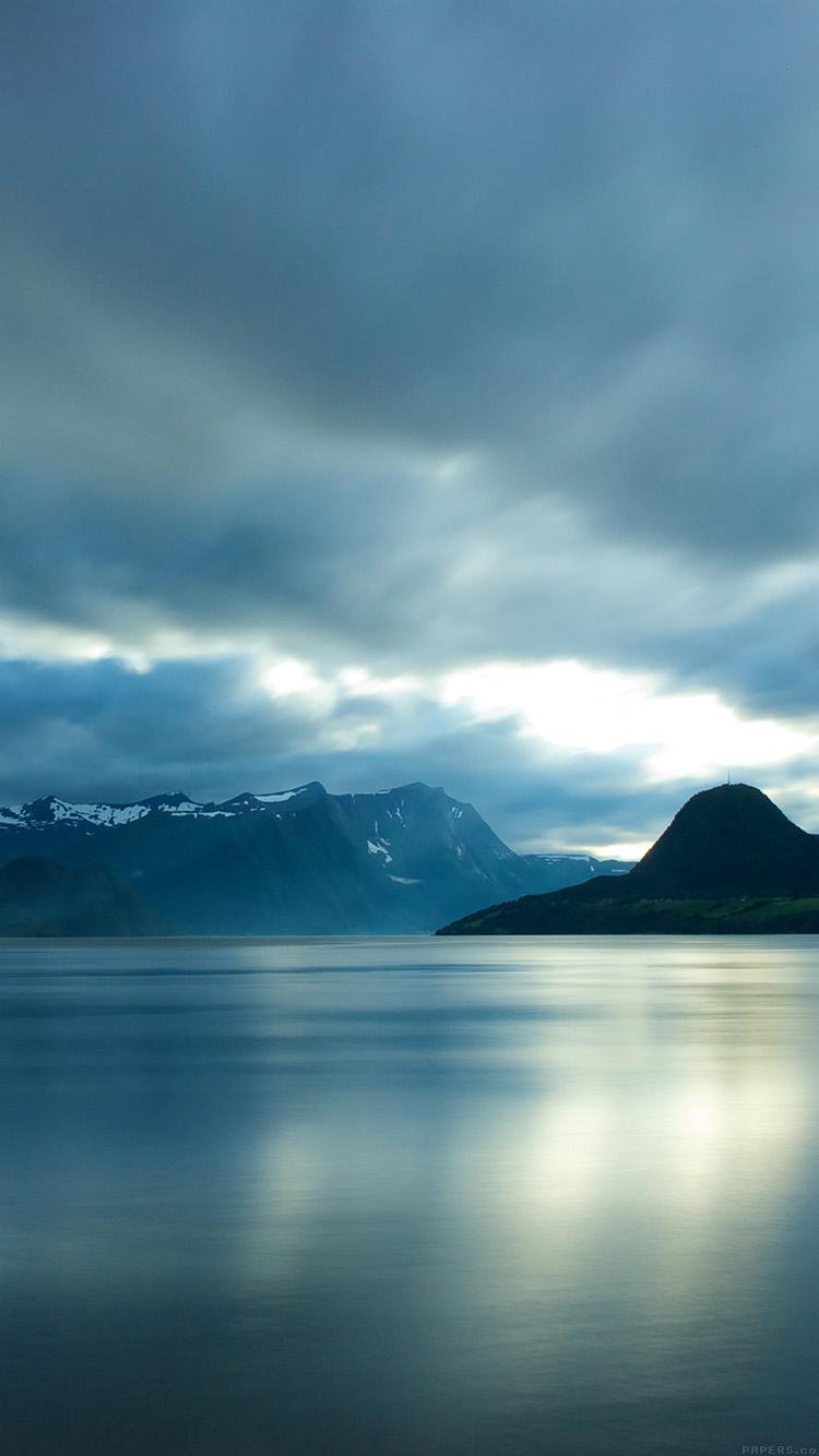 凍てつく風景 iPhone6壁紙