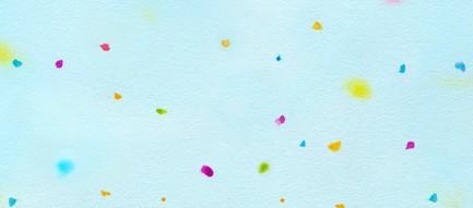 水色の千代紙 iPhone6壁紙