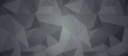 黒のポリゴン Android壁紙(2160x1920)