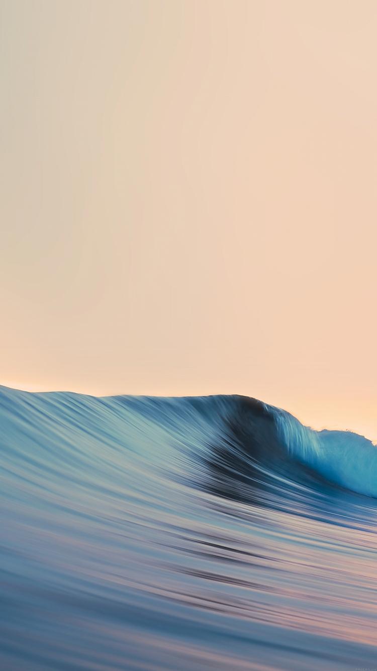 綺麗な波 iPhone6壁紙