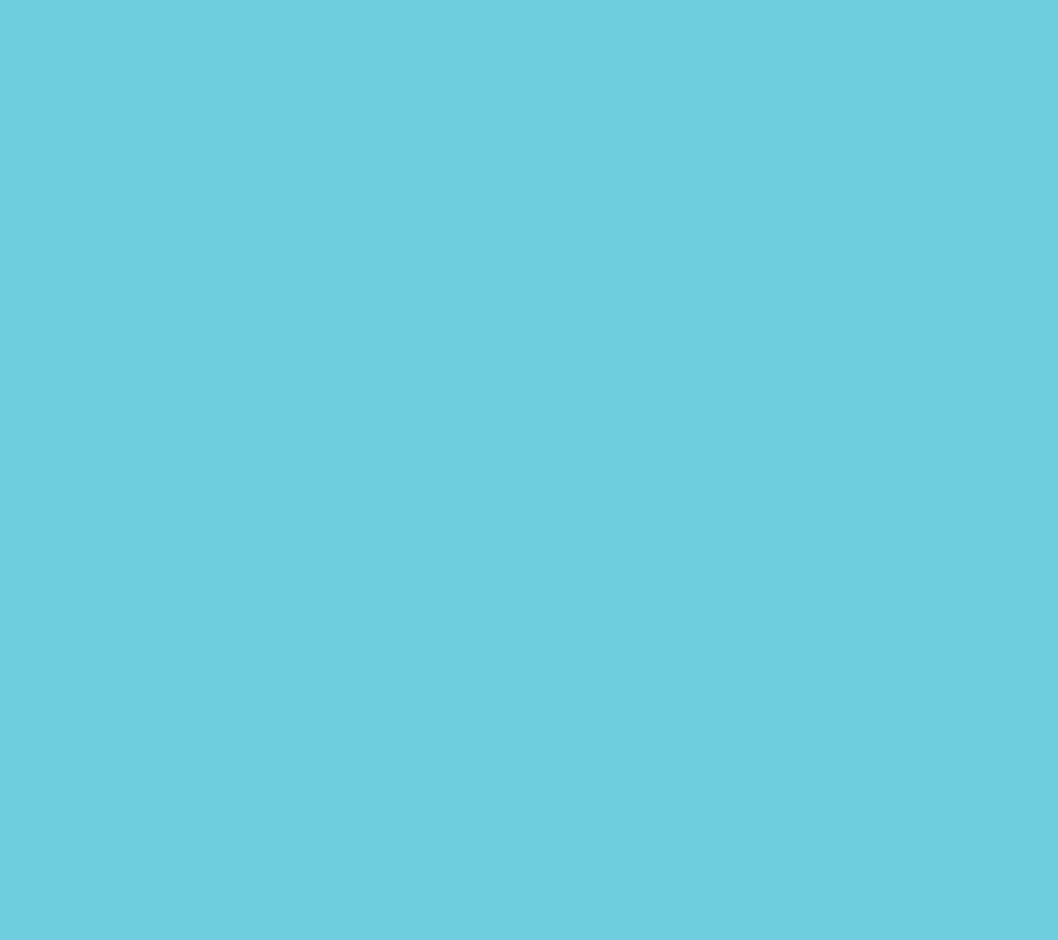 フラットな水色 Android壁紙