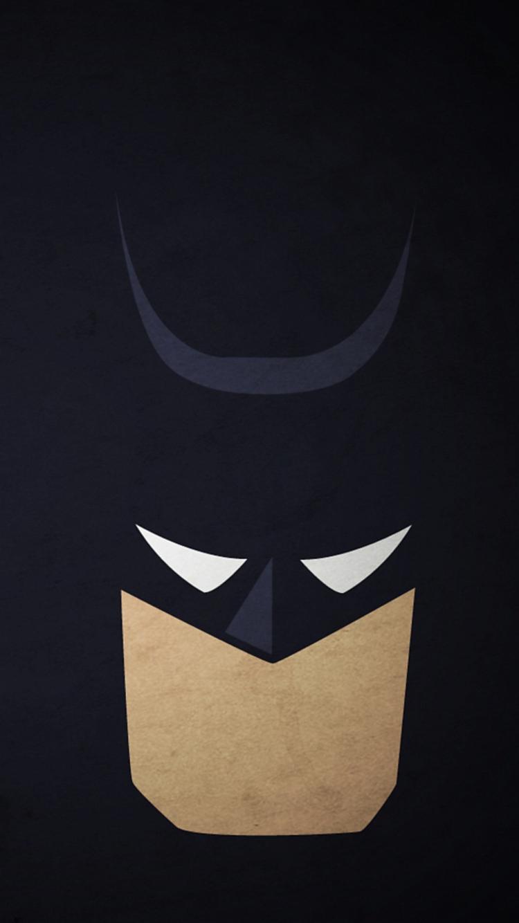ポップなバットマンのイラスト iPhone6壁紙