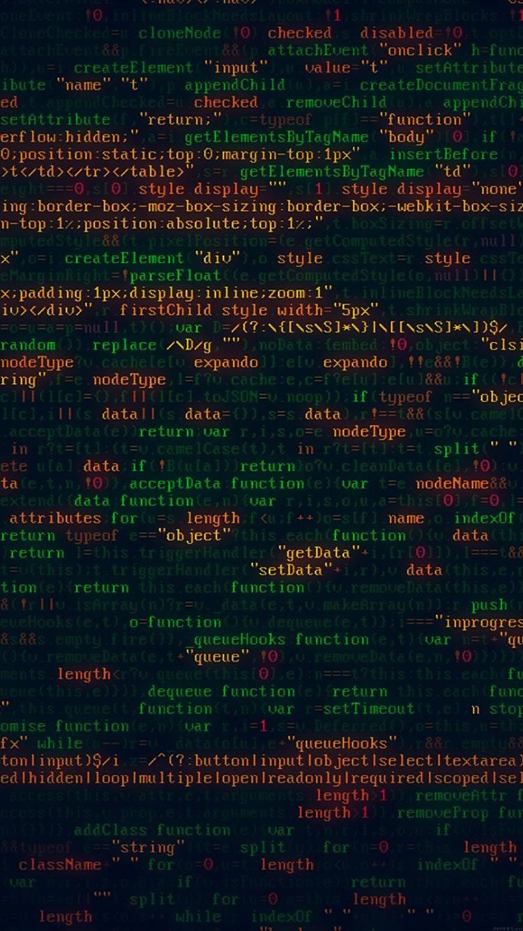 プログラミングコード iPhone6壁紙