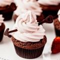 チョコカップケーキ iPhone6壁紙