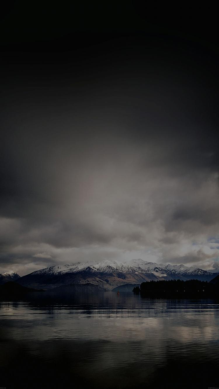 曇り日の風景 iPhone6壁紙