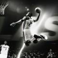 NBA バスケのダンク iPhone6壁紙