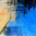 ベタ塗りの絵の具 iPhone6壁紙