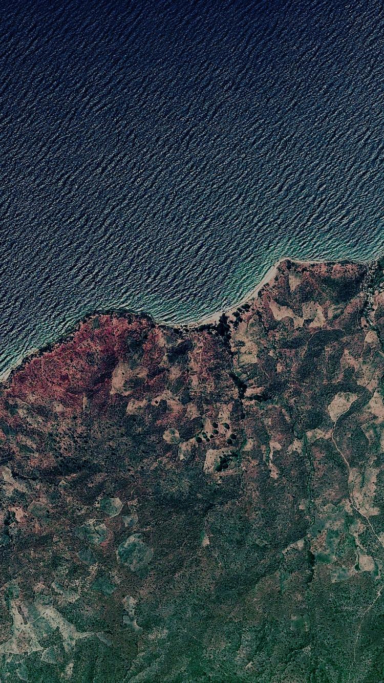 リアルな地図 iPhone6壁紙
