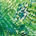 緑の絵の具 iPhone6壁紙