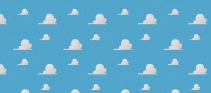 かわいい雲のイラスト Android壁紙
