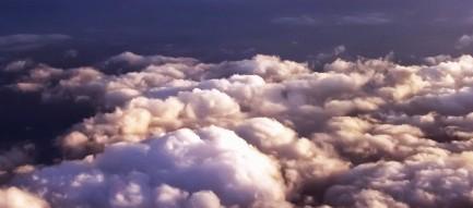 朝焼けの雲 iPhone6 Plus壁紙