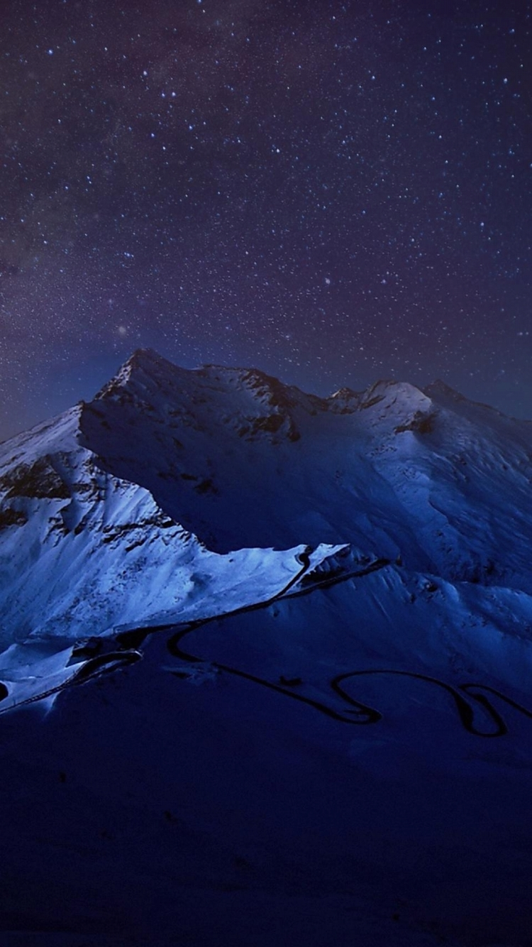 Blue mountain iPhone6壁紙