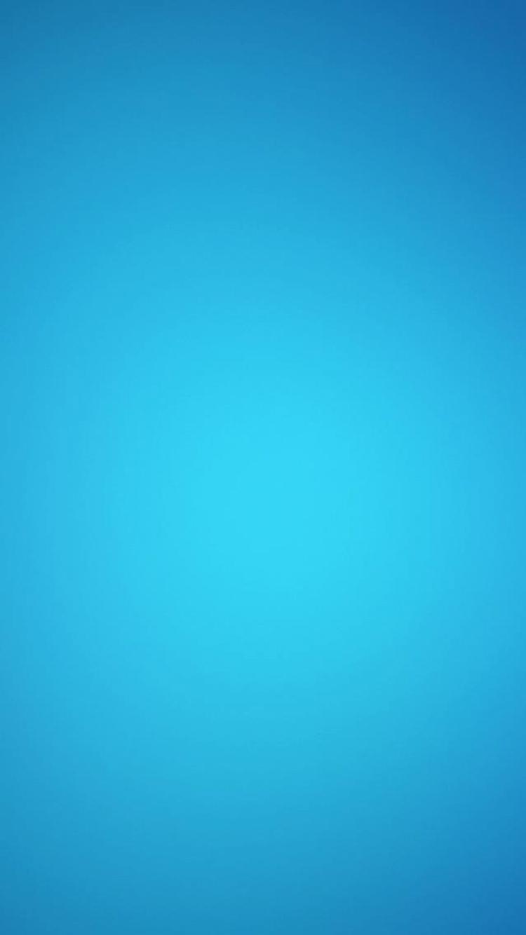 ミニマル・ブルー iPhone6壁紙