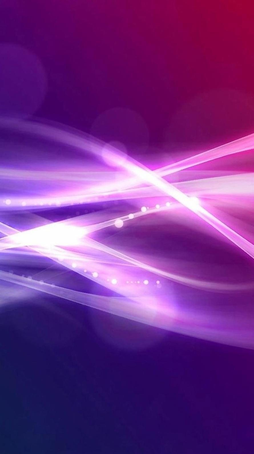 紫の光るライン Iphone6壁紙 Wallpaperbox