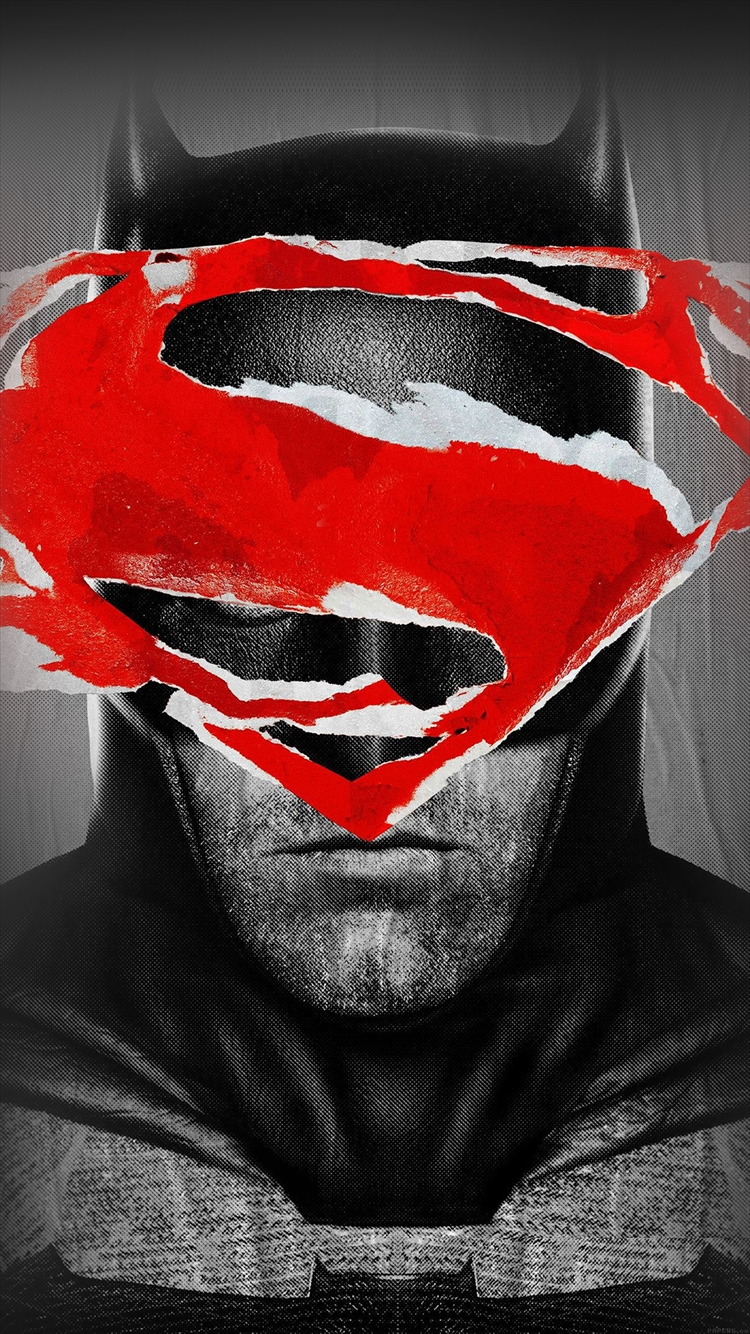 バットマン スーパーマン iPhone6壁紙