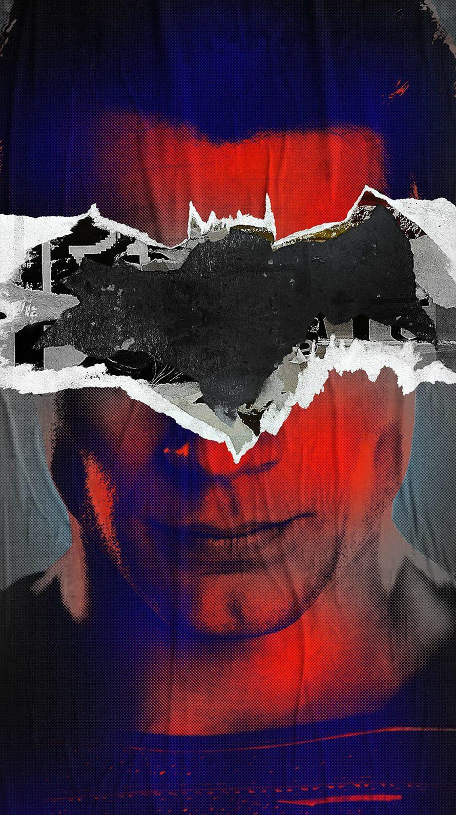 バッドマン スパイダーマン iPhone6壁紙