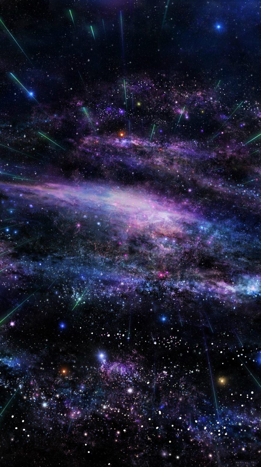 宇宙 ギャラクシー iPhone6壁紙