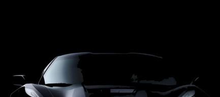 黒いスポーツカー 正面 iPhone6壁紙