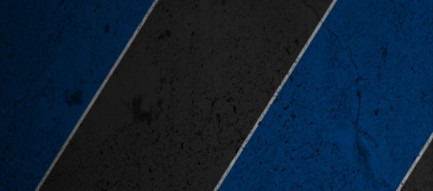 青と黒のストライプ iPhone6壁紙