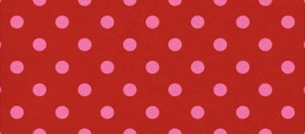 かわいい赤い水玉ドット iPhone6壁紙